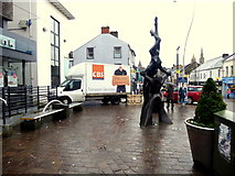 H4572 : Balance sculpture, Omagh by Kenneth  Allen