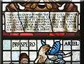 SJ8397 : Shakespeare Window: Detail by Gerald England