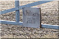 TL1220 : Chiltern Hall sign by Adrian Cable