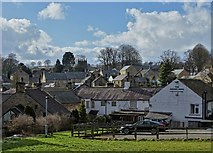 SK2276 : Eyam - general view by Neil Theasby