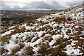SD8181 : Snowy moorland at Middle Bank Hill by Roger Templeman