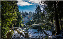 NU0702 : Iron Bridge and Cragside by Peter Moore