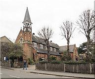 TQ2470 : Emmanuel, Ridgway, Wimbledon by John Salmon