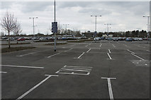 TL4662 : Milton Park and Ride Car Park by Malcolm Neal