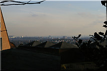 TQ1587 : View towards London from Peterborough Road, Harrow-on-the-Hill by Christopher Hilton