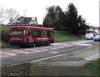 ST3096 : Stagecoach driver training bus, Edlogan Way, Croesyceiliog, Cwmbran by Jaggery