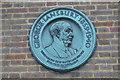 TQ2780 : George Lansbury plaque, Serpentine Lido by N Chadwick