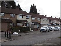 ST3096 : Edlogan Way houses, Croesyceiliog, Cwmbran by Jaggery