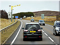 NH8325 : Average Speed Cameras on the A9 near Slochd Summit by David Dixon
