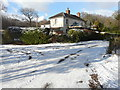 TR1841 : White Lodge, Acrise by John Baker