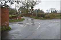 SY0087 : Crossroads near Oakhayes by N Chadwick