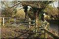 ST6266 : Kissing gate by Queen Charlton Lane by Derek Harper