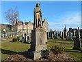 NS7993 : Statue of Ebenezer Erskine by Lairich Rig