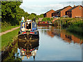 SK2602 : Coventry Canal at Polesworth in Warwickshire by Roger  Kidd