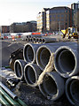 ST5972 : Concrete pipes need a soft touch by Neil Owen