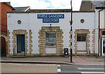 ST0207 : Cullompton: Furse Sanders, Solicitors by Martin Bodman