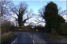 TL1824 : School Lane, Preston by Adrian Cable