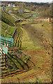SX8866 : Fence below South Devon Link Road  by Derek Harper