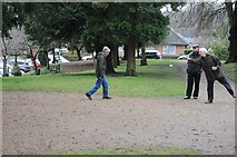 SO7845 : Playing petanque in Malvern by Philip Halling