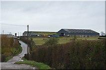 SX9988 : Barn, Postlake Farm by N Chadwick