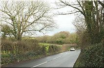 SW9775 : B3314 approaching Gutt Bridge by Derek Harper