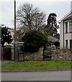 ST4988 : BT phonebox, Crick Road, Portskewett by Jaggery