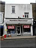 TR3752 : Hawkins Menswear, 104-106, High Street by John Baker