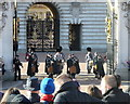 TQ2979 : Changing of the Guard, Buckingham Palace by Rudi Winter