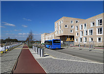TL4259 : Eddington: the U bus on Turing Way by John Sutton