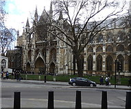 TQ3079 : Westminster Abbey by Rudi Winter