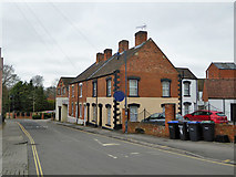 SU0061 : Houses on Station Road, Devizes by Robin Webster