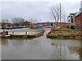 SU0061 : Slipway at Devizes Wharf by Robin Webster