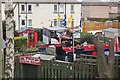 NT2172 : A tram in the back garden, Saughtonhall by Jim Barton