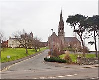 J4844 : The St Patrick's Church Campus viewed from St Patrick's Avenue by Eric Jones