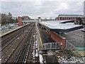 SU8155 : Fleet railway station, Hampshire by Nigel Thompson