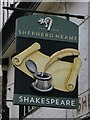 TR1557 : Shakespeare sign by Oast House Archive
