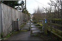 SX9788 : Footpath and cycle track by N Chadwick