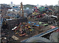 SK6005 : Scrap yard along Ulverscroft Road, Leicester by Mat Fascione