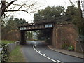 TQ5364 : Bridge over the A225, Eynsford by Malc McDonald