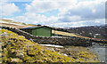 NY6939 : New shooting hut at Greencastle by Trevor Littlewood