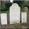 TG2008 : WW1 graves in the Jewish burial ground by Evelyn Simak