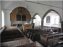 SS6744 : Interior, The church of St Petrock at Churchtown by Roger Cornfoot