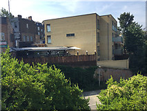 TQ3370 : Zola House flats to the rear of Crystal Palace Parade, Upper Norwood, south London by Robin Stott