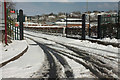 SX9065 : Torquay Academy in the snow by Derek Harper
