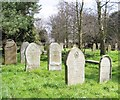 TG2108 : Old gravestones in Section 5 by Evelyn Simak