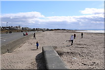 NS3230 : South Beach, Troon by Billy McCrorie