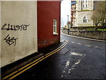 H4472 : Graffiti, Omagh by Kenneth  Allen
