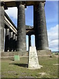NZ3354 : Trig point on Penshaw Hill by Graham Hogg