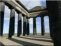 NZ3354 : Penshaw Monument interior by Graham Hogg