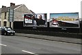 SN4900 : JCDecaux advertising boards on the south side of Sandy Road, Llanelli by Jaggery